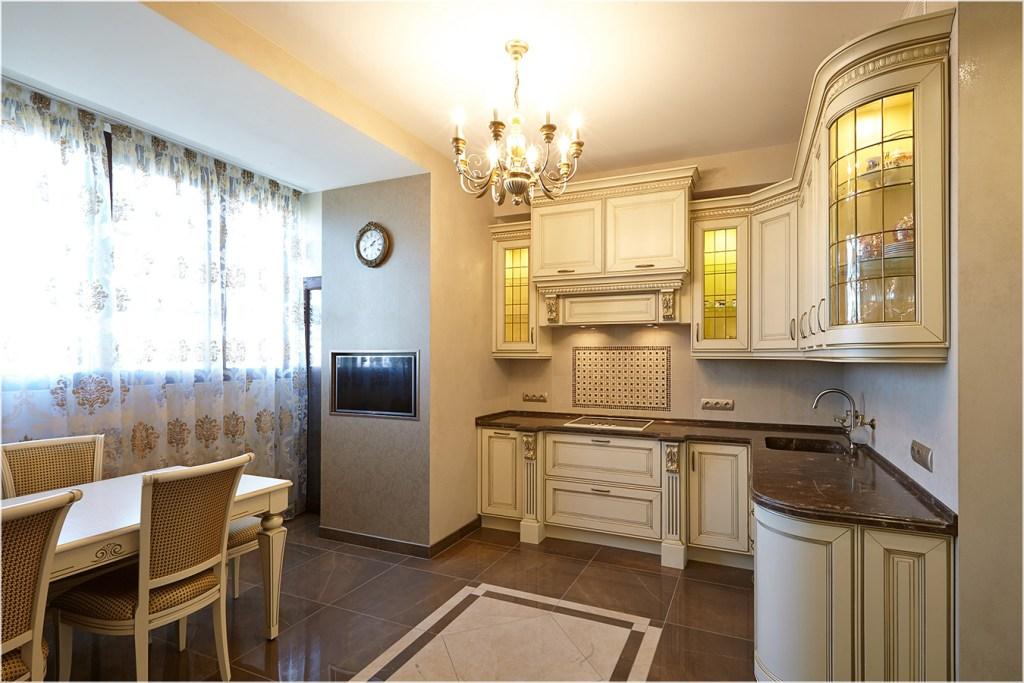 Кухня 14 в классическом стиле