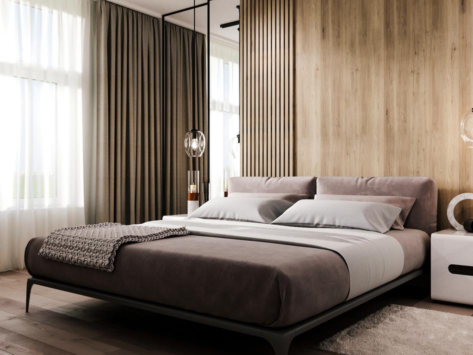 Спальня Tyler - готовый проект №4