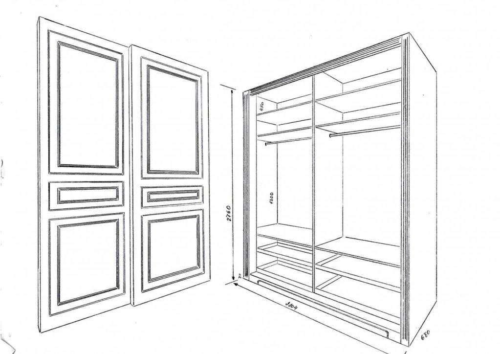 Предварительный эскиз шкафа Tilburg Tilburg