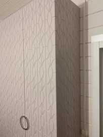 прилегание бока и фасада под 45 градусов, фрезерованные поверхности
