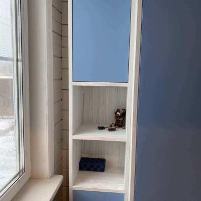 распашной шкаф в прихожую, покрытие эмаль