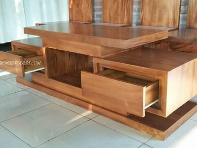 model meja tv minimal;is paling terbaru jati