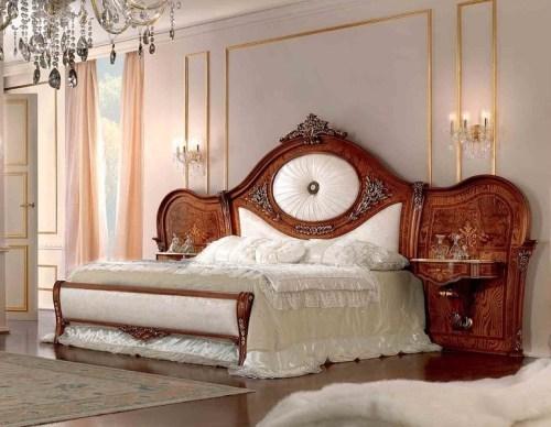 Кровать с подвесными прикроватными тумбами 164 x 198