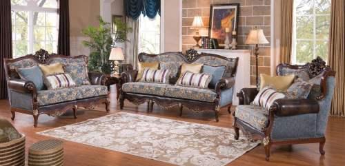 мягкая мебель Bianka-4 Blue - Мягкая мебель
