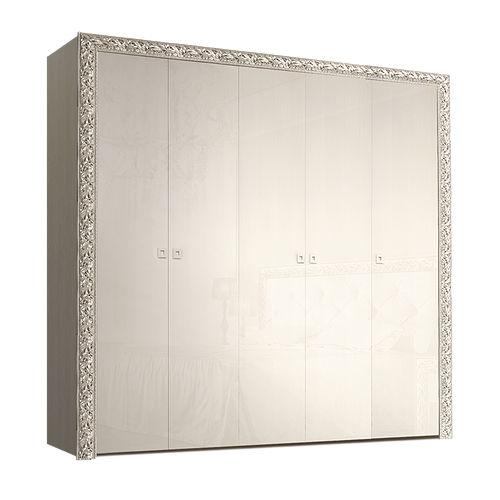 Шкаф 5-х дв. для платья и белья (без зеркал)
