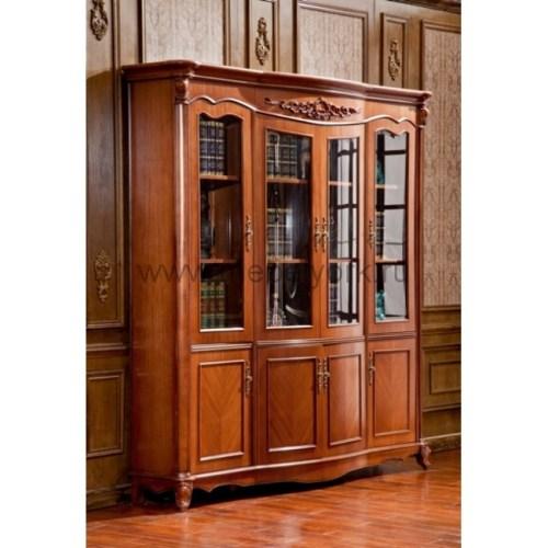 Шкаф книжный 4 двери