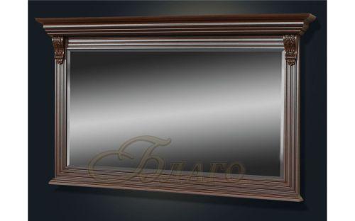 Зеркало к шкафу-комоду 2-х ств. Б5.16-15 Орех