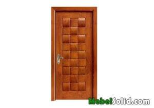 Pintu Rumah Kayu Jati Model Minimalis