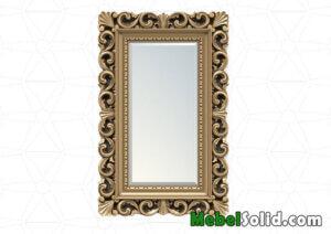 Pigura Cermin Ukir Kayu Jati