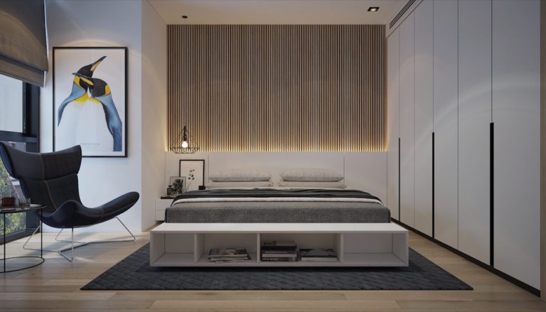 bedroom-accent-wall-straight-narrow-slats-mebelux