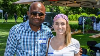 Dr. Magnus Ekedede and Chief Hutchison's daughter, Brittany