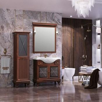 Мебель для ванной Opadiris Борджи 85 Светлый орех