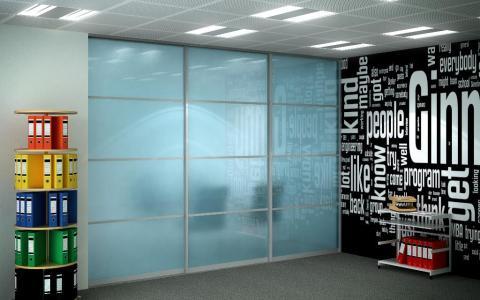 Opeque sliding wardrobe doors