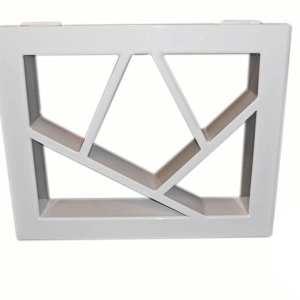 podstawa metalowa geometryczna