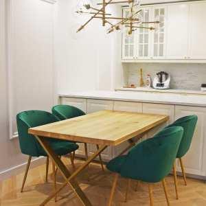 stół dębowy anglet 140x80