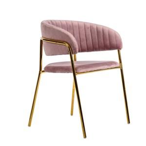 krzesło nina różowe