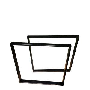 noga to stołu czarna trapezowa