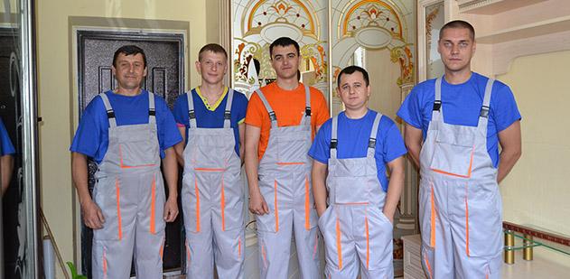 Команда працівників