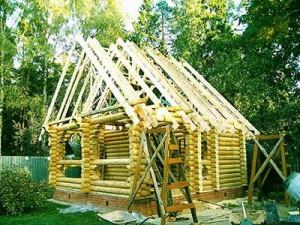 Строительство деревянного дома из сруба