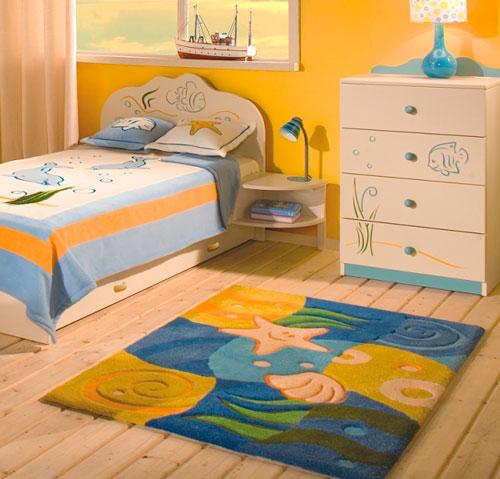 Ковер может стать главным декоративным элементом комнаты