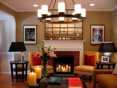 Свечи добавят уют в вечернее время