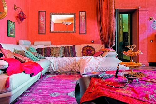 Гостиная в стиле Ближнего Востока