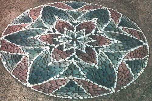 Круговая мозаика