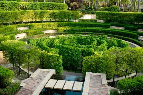 Садовый лабиринт