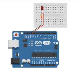Encender y apagar un LED con Arduino