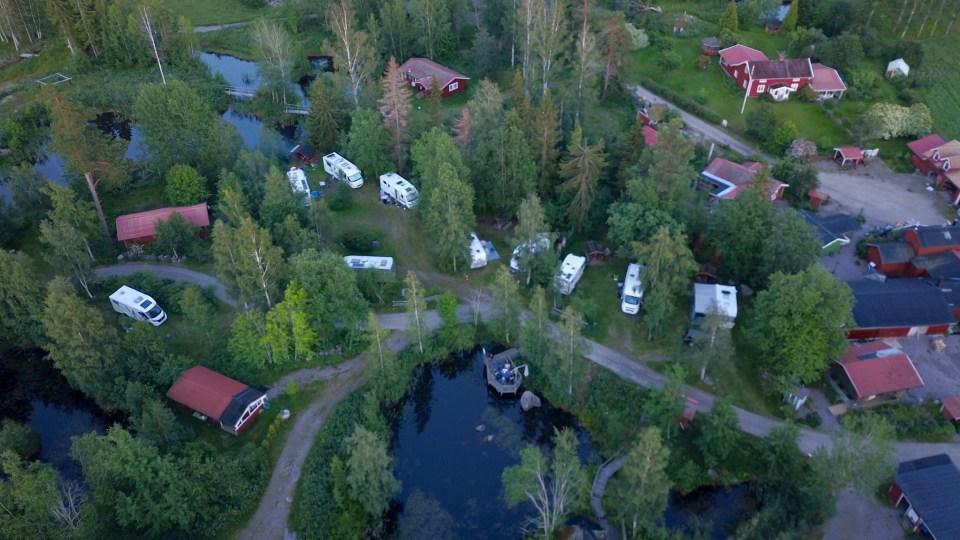 Numer finns det många platser på Åråshult - detta var vårt hörn.
