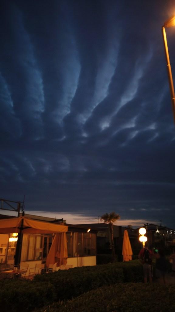 Kvällens molnbild