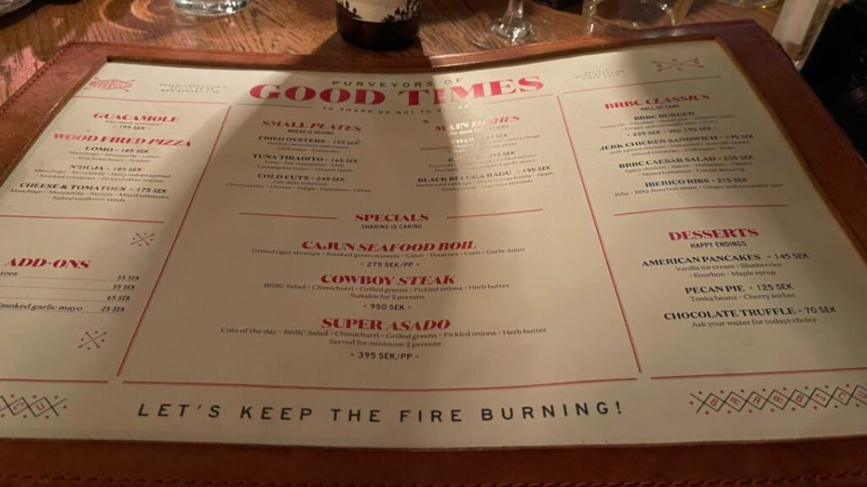 Restauranf Barabicu var medioker men...
