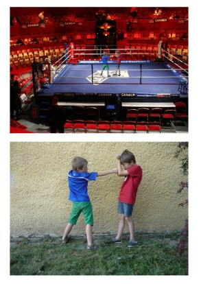 Boxe with Gaston and Leon - Alexis Emery-Dufoug