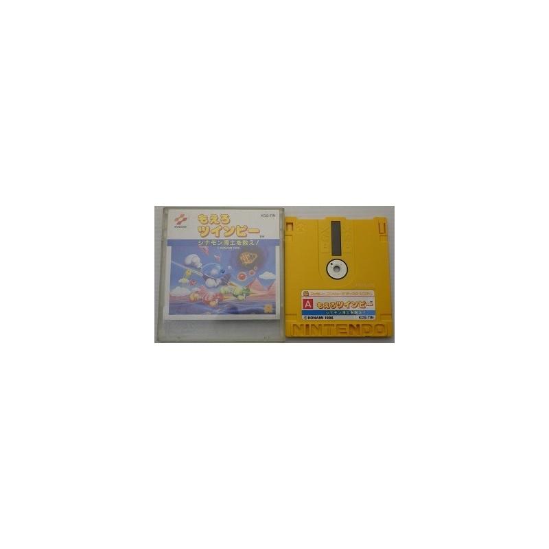 Moero Twinbee Cinamon Hakase Wo Sukue Stinger Famicom Disk System Meccha Japan