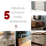 5 fabulous furniture finds: sideboards | @meccinteriors | design bites