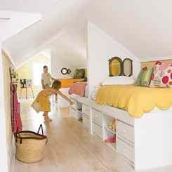 20 inspiring ideas for children's bedrooms with sloped ceilings   @meccinteriors   design bites
