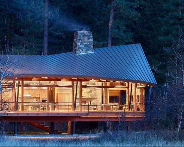 a secluded mountain valley home on the edge of the north cascades   @meccinteriors   design bites