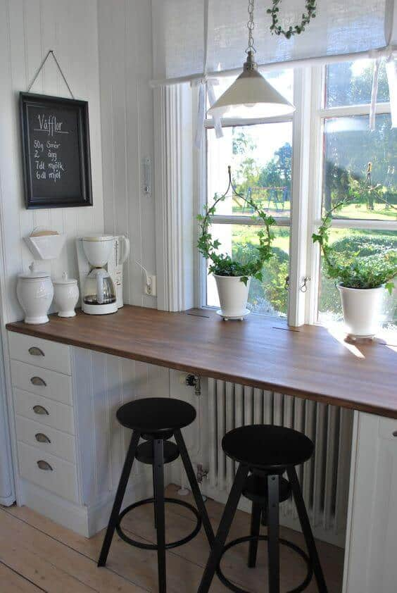 Marvelous Enjoy The View From A Window Seat At The Breakfast Bar | @meccinteriors |  Design Design Ideas