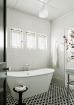 15 crisp, clean, classic interiors in black and white