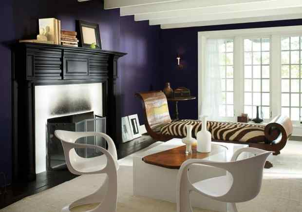 2017 will be a shadow in rich, royal, dramatic amethyst   @meccinteriors   design bites