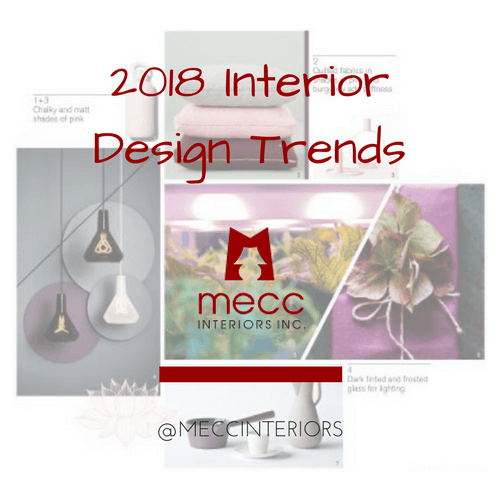 2018 interior design trends | @meccinteriors | design bites