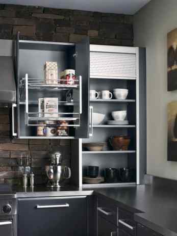 the best functional overhead fridge cabinet solutions | @meccinteriors | design bites