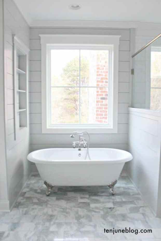 the top 5 colours for a relaxed bathroom | @meccinteriors | design bites