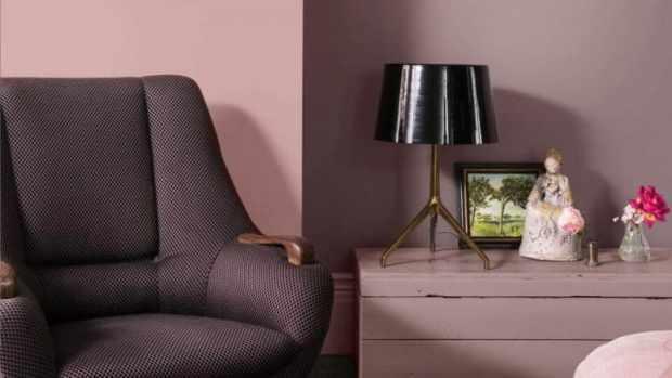 heart wood is a beautiful warm pink | @meccinteriors | design bites