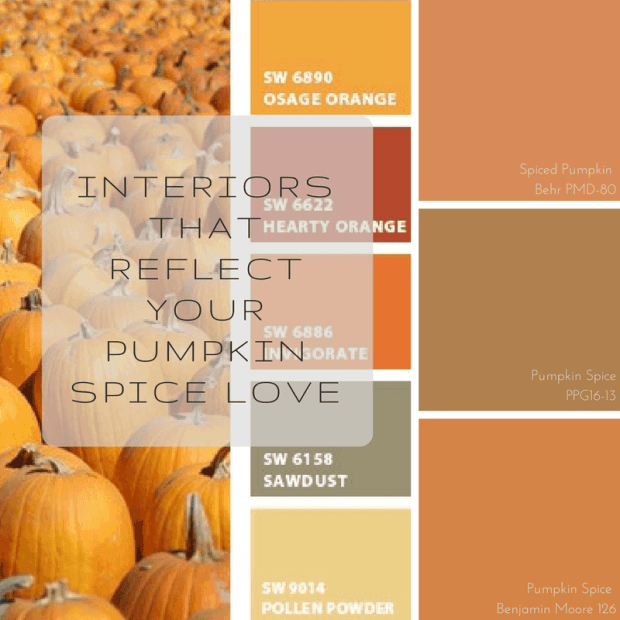interiors that reflect your pumpkin spice love | @meccinteriors | design bites