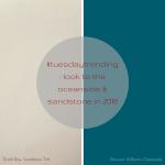 #tuesdaytrending: look to the oceanside & sandstone in 2018 | @meccinteriors | design bites