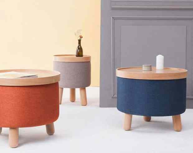 8 great removable tray side tables do double duty | @meccinteriors | design bites