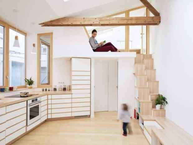 the making of a bright and spacious tiny house   @meccinteriors   design bites
