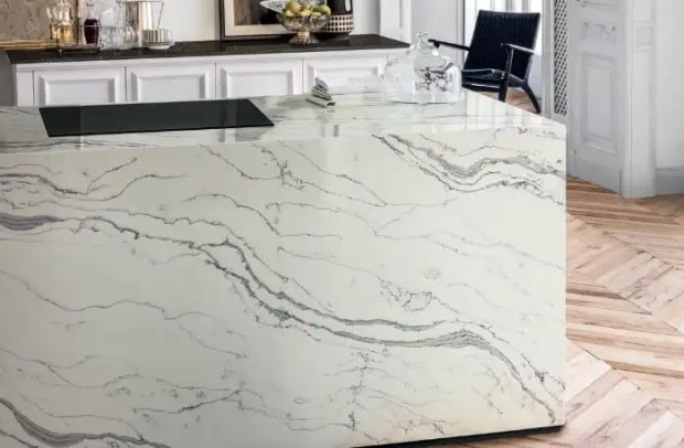 love the look of natural stone counters minus the stone   @meccinteriors   design bites