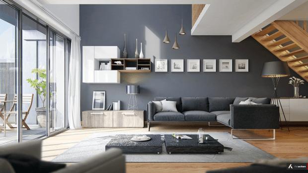 #tuesdaytrending: nordic-inspired slate blue for summer 2018 | @meccinteriors | design bites